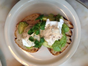 Turkish Style Poached Eggs, Yogurt Chilli & Avocado | Photo: Rubina A Khan