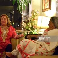 Raj Kapoor's Daughter, Rima Jain's Ganpati Aarti 2015