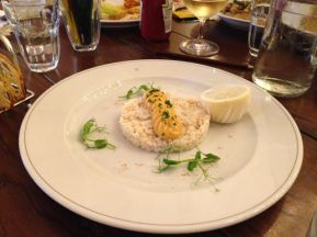 Crab Hash with Basil Mayo | Photo: Rubina A Khan