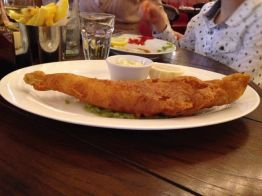Fish & Chips with Mushy Peas | Photo: Rubina A Khan