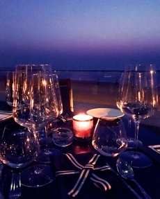 Table by the sea | Photo: Rubina A Khan