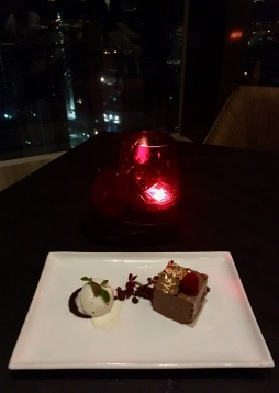 Chocolate Truffle Mousse with Truffle Icecream | Photo: Rubina A Khan