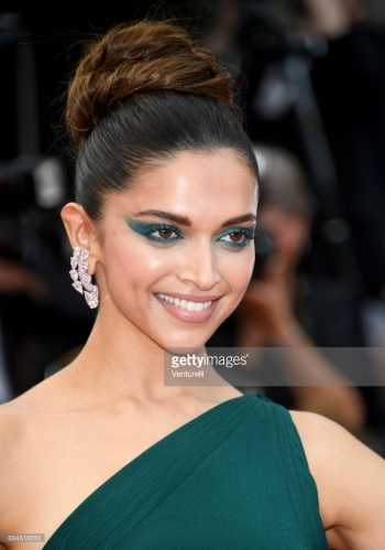 Deepika Padukone attends the 'Nelyobov (Loveless)' screening during the 70th annual Cannes Film Festival at Palais des Festivals on May 18, 2017 in Cannes, France