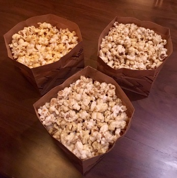 Wasabi, Jalapeno Cheese & Peri Peri Popcorn | Photo: Rubina A Khan