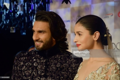 Ranveer Singh and Alia Bhatt walk for Manish Malhotra's Sensual Affair