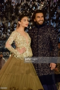 Alia Bhatt and Ranveer Singh walk for Manish Malhotra's Sensual Affair