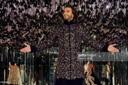 Ranveer Singh walks for Manish Malhotra's Sensual Affair