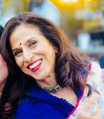 Shobhaa De at her book launch