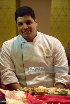 Chef De Cuisine Dinesh Joshi