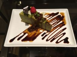 40 Layer Green Tea Cake | Photo: Rubina A Khan