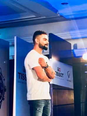 Virat Kohli x Tissot Chrono XL | Photo: Rubina A Khan