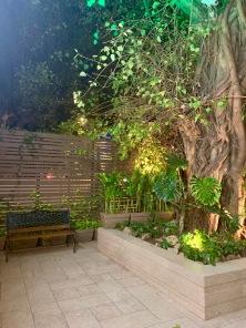 The Bluebop Cafe courtyard | Photo: Rubina A Khan