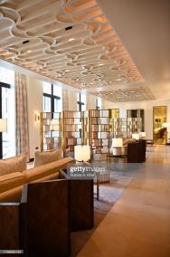 DOHA, QATAR: The Baraha Lounge at the Mandarin Oriental, Doha in Qatar